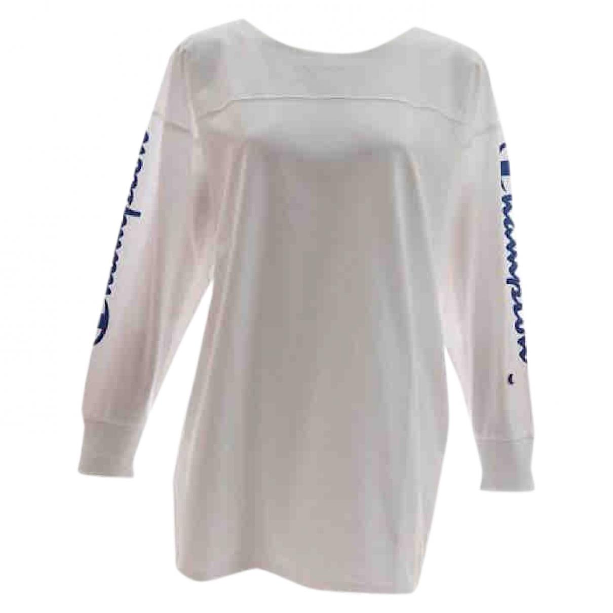 Champion \N White Cotton Knitwear & Sweatshirts for Men S International