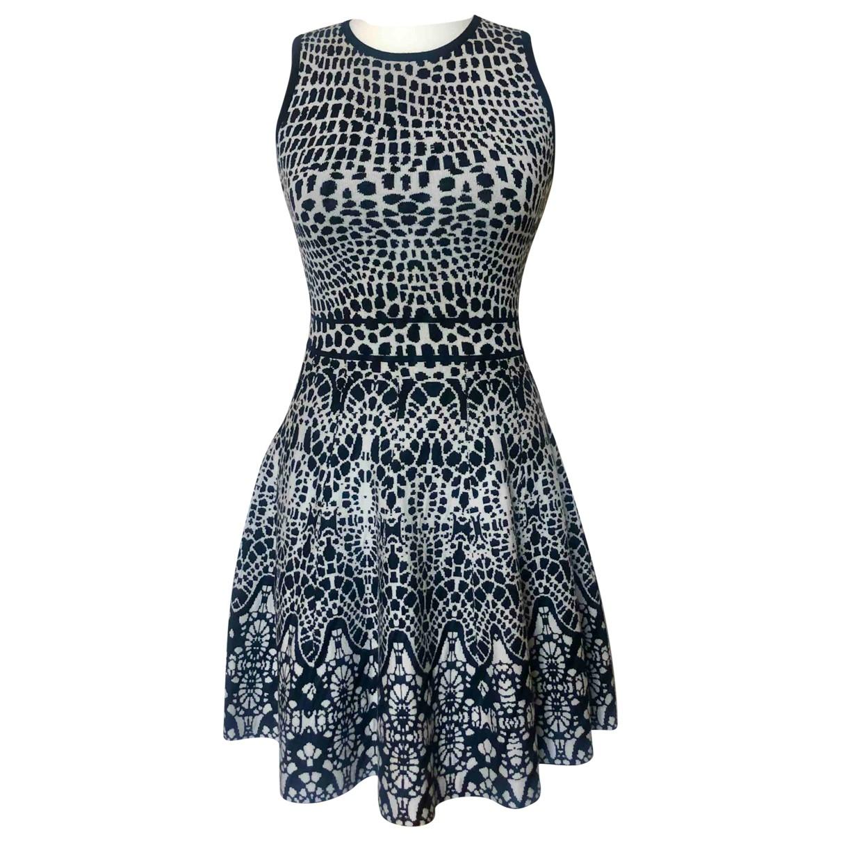 Karen Millen \N Kleid in Baumwolle - Elasthan