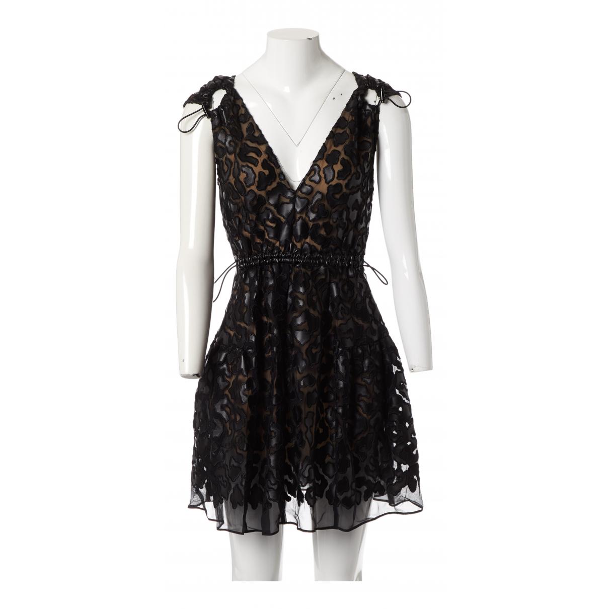 Stella Mccartney \N Kleid in  Schwarz Polyester