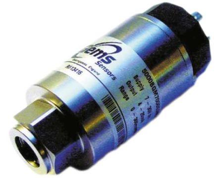 Gems Sensors Pressure Sensor for Sea Water , 0.35bar Max Pressure Reading Analogue