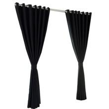 Schwarz Vorhang Vorhang