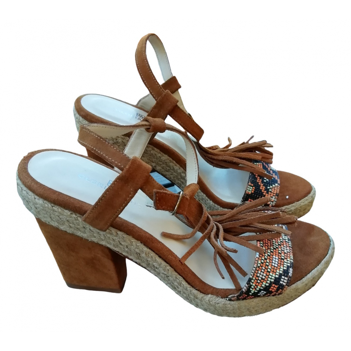 Non Signé / Unsigned \N Multicolour Leather Sandals for Women 38 EU
