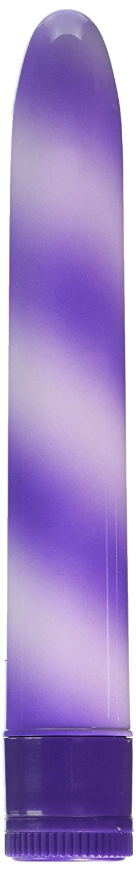 CalExotics Candy Cane Waterproof Vibrator - Purple  Purple