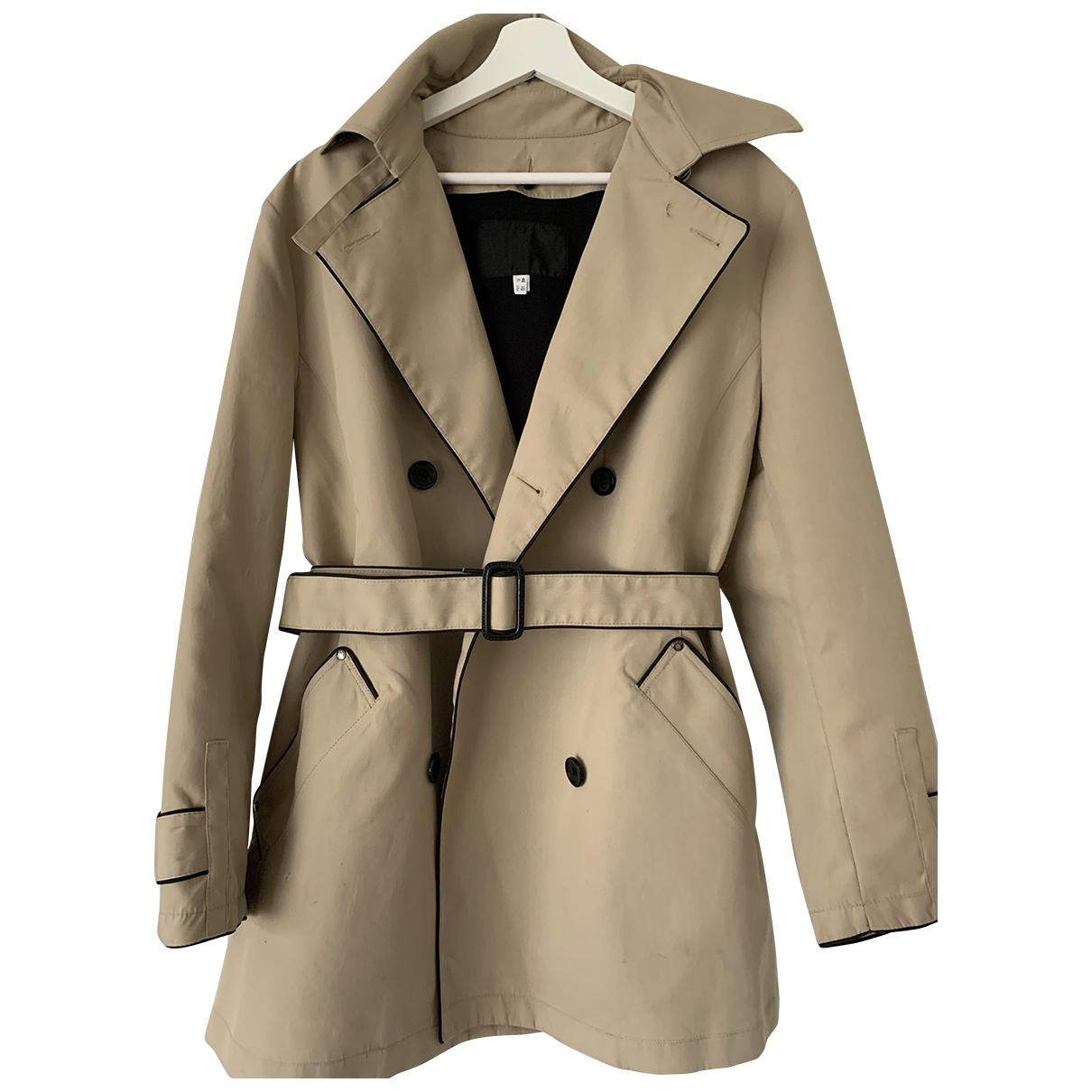 Armani Jean - Manteau   pour femme en coton - beige