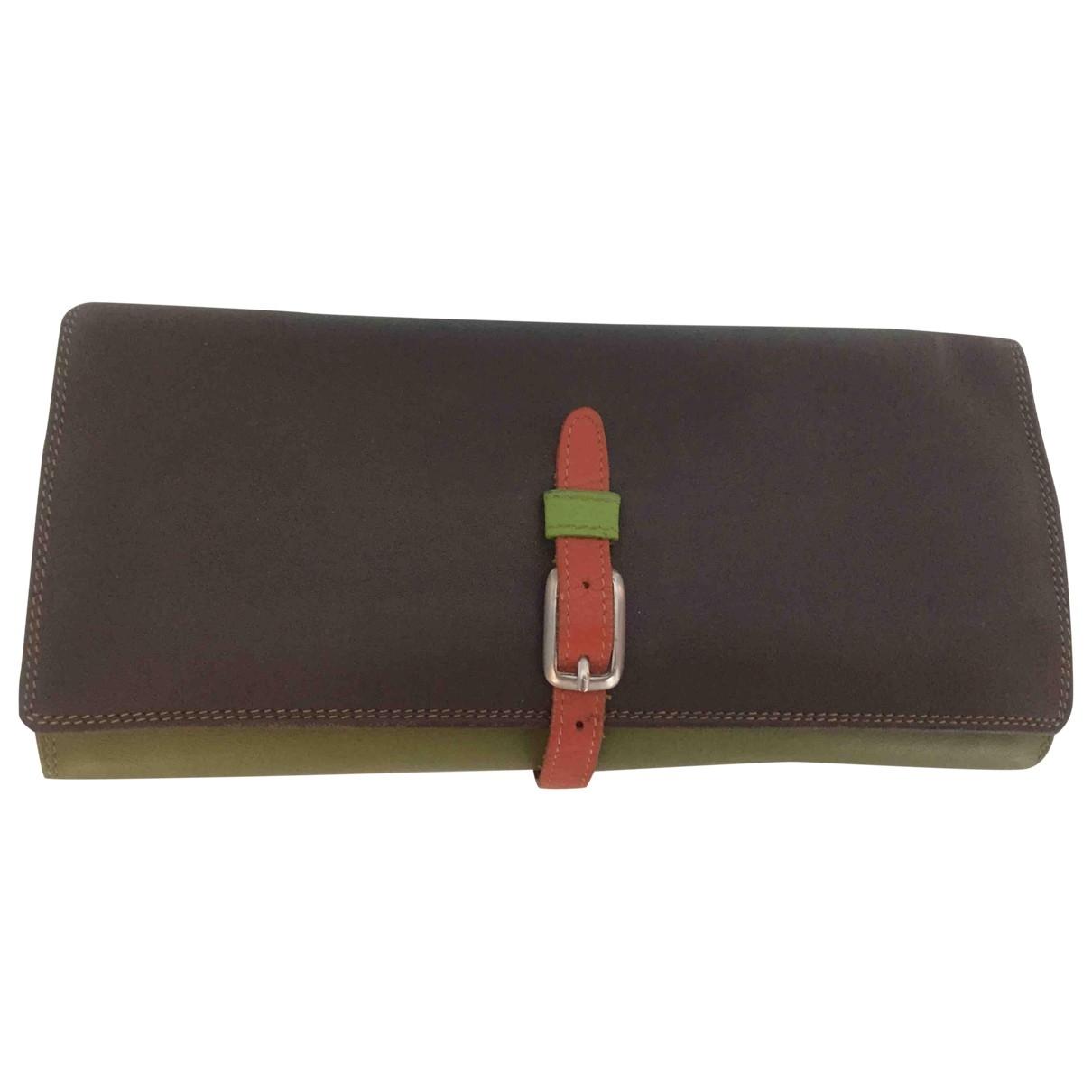 - Petite maroquinerie   pour femme en cuir - multicolore