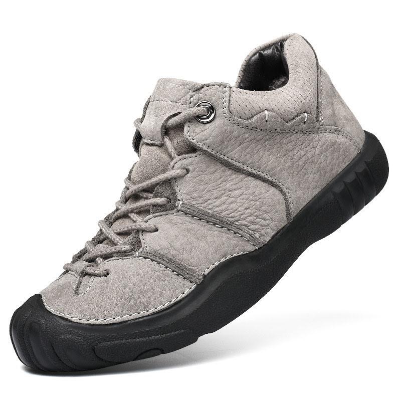 Ericdress PU Low-Cut Upper Lace-Up Men's Work Sneakers