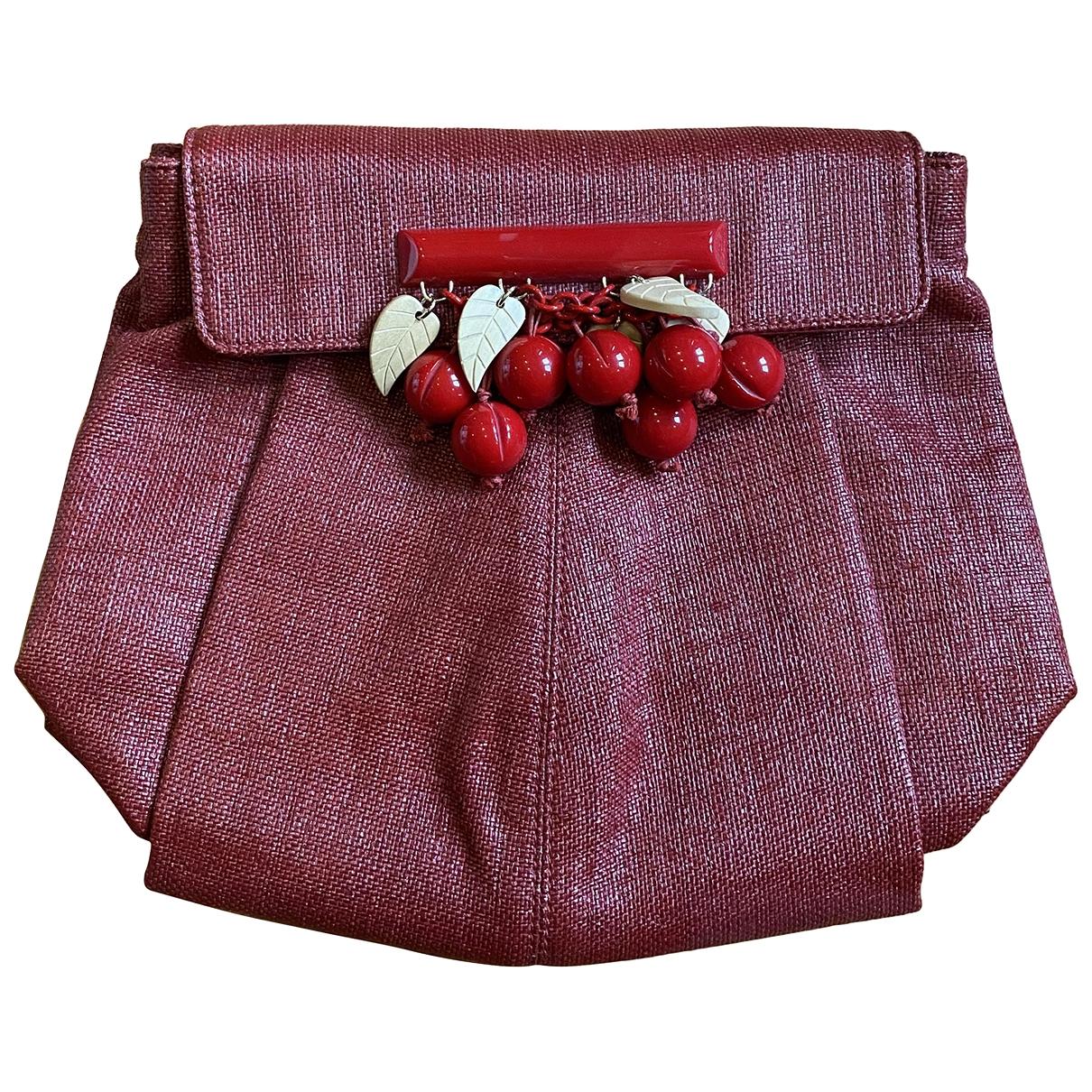 Stella Mccartney - Pochette   pour femme en toile - rouge