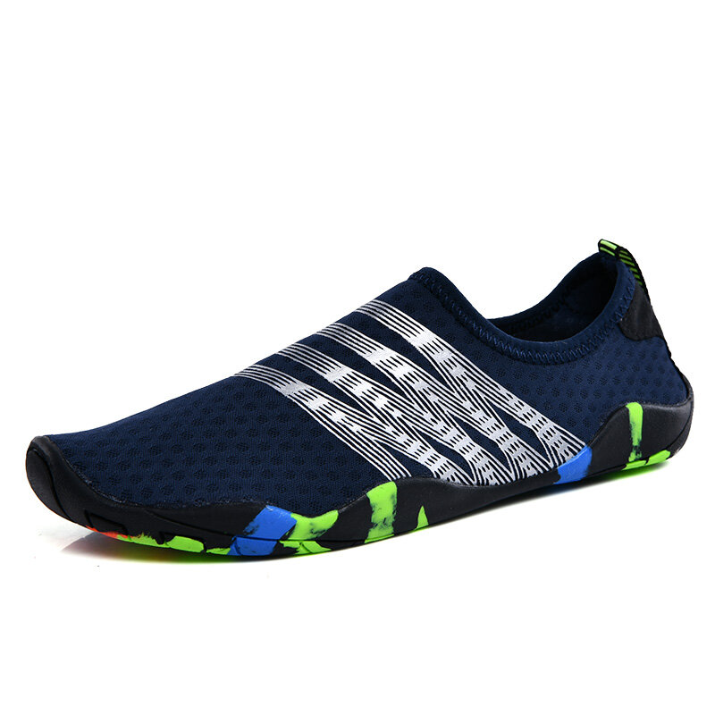 Men Fabric Non Slip Quick Drying Beach Snorkeling Water Shoes