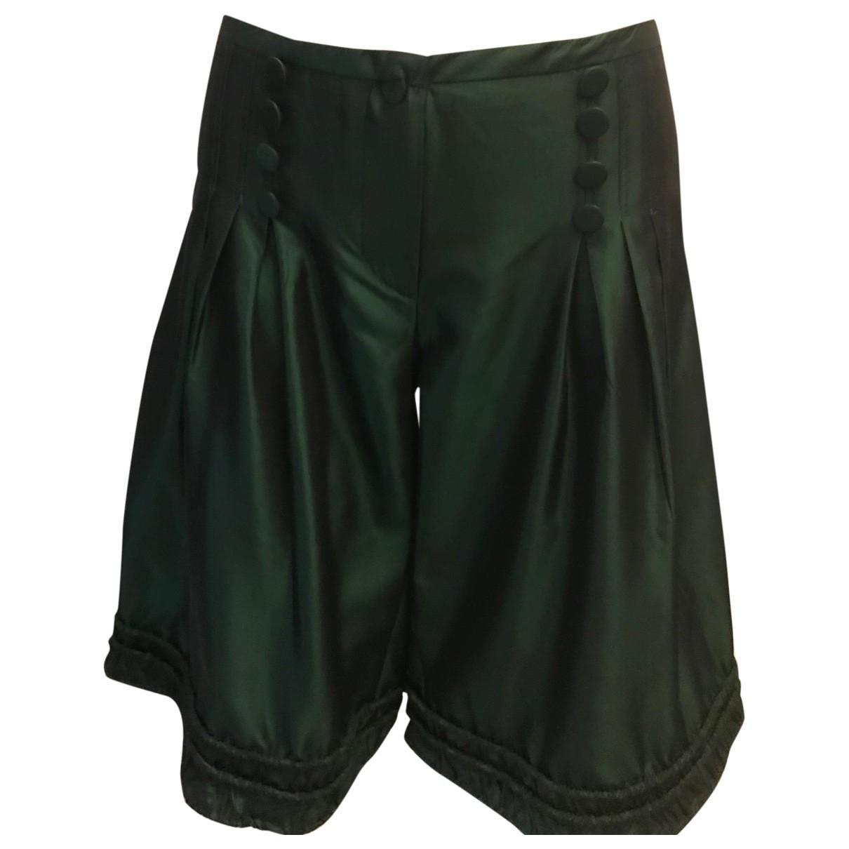 Emporio Armani \N Shorts in  Gruen Polyester