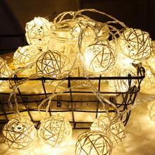 20 piezas luz de cuerda con bombilla de bola
