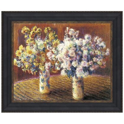 DA4132 27X22.5 Two Vases Of Chrysanthemums
