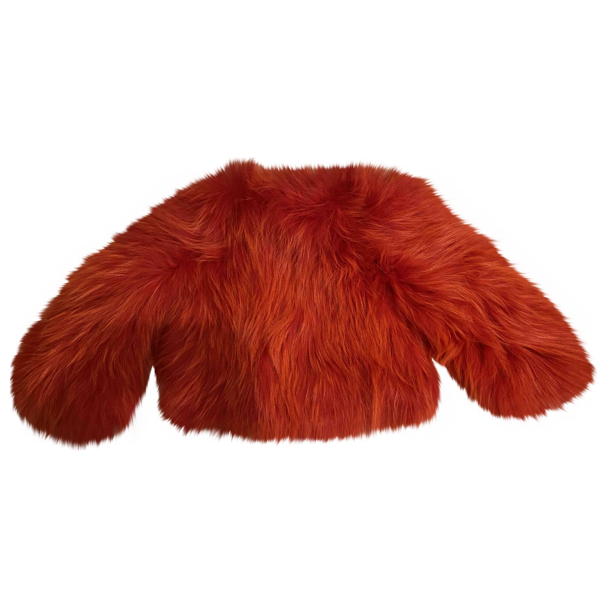 Balmain \N Pullover in  Rot Waschbaer