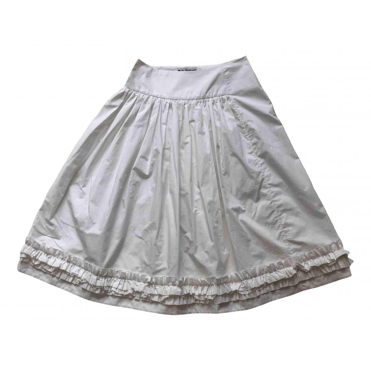 Molly Goddard - Jupe   pour femme en coton - blanc