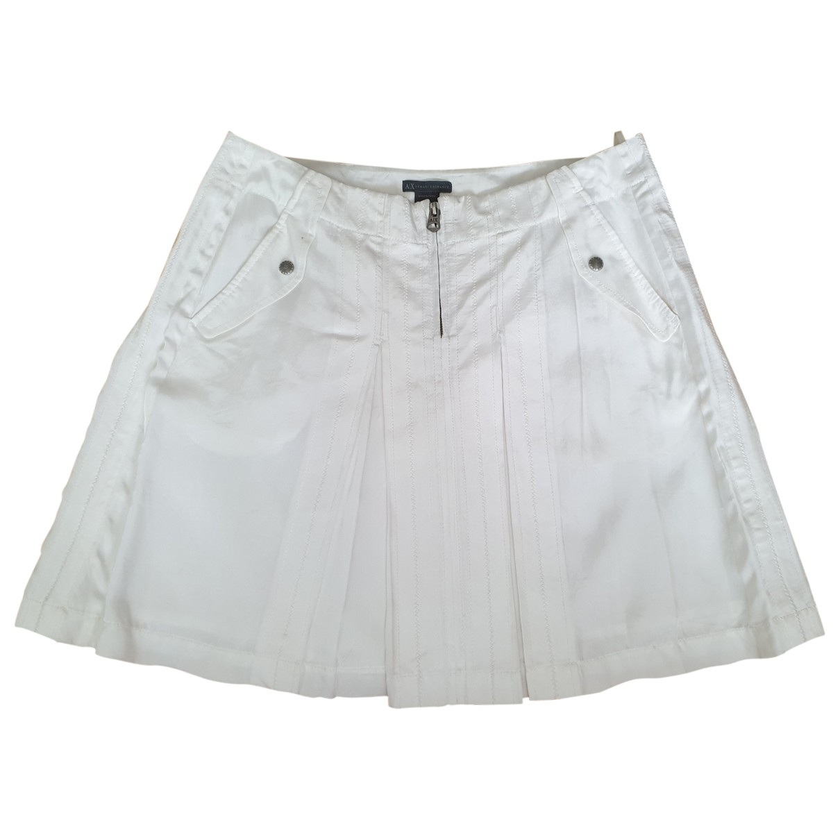 Emporio Armani \N Rocke in  Weiss Polyester
