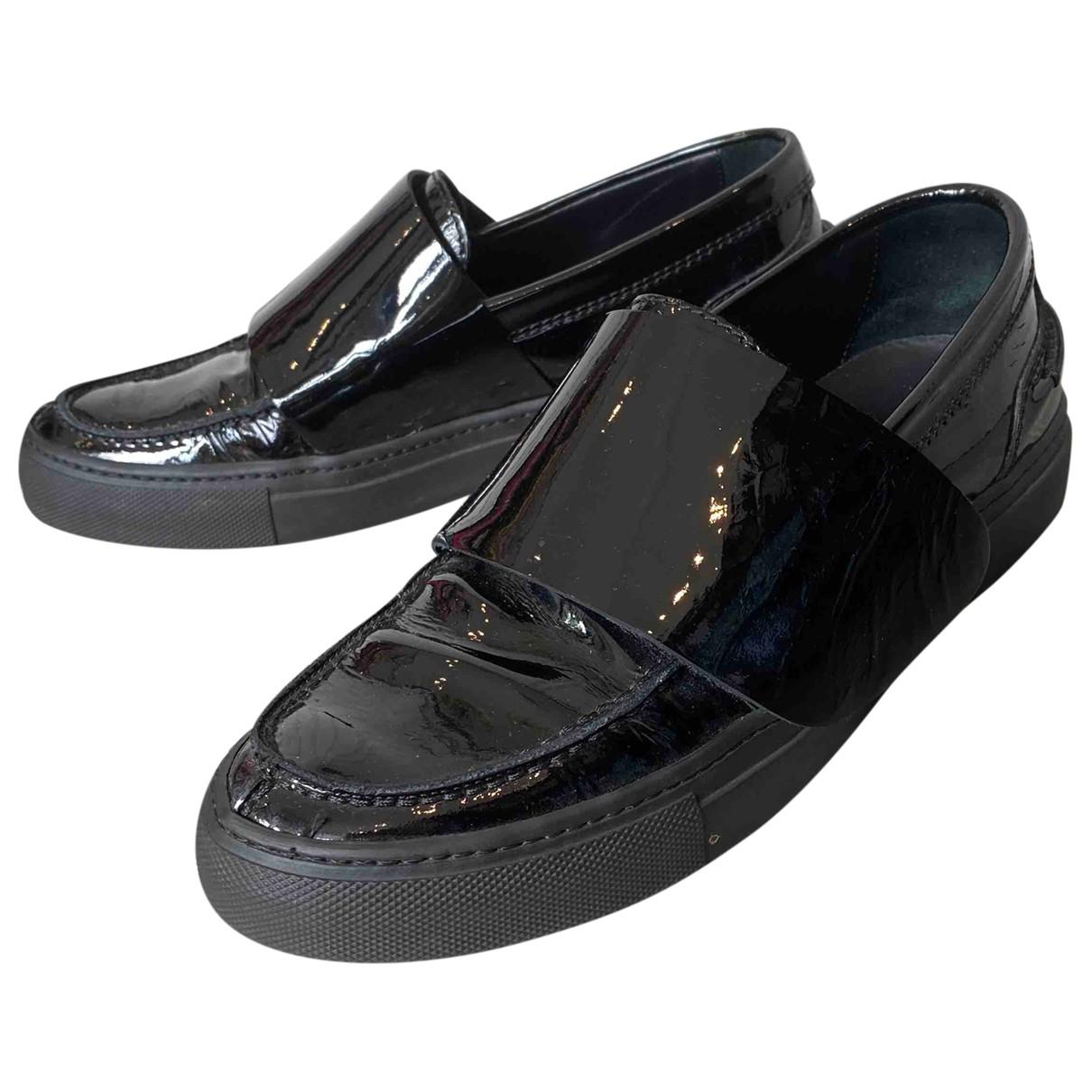 Giambattista Valli \N Black Patent leather Trainers for Women 39 EU