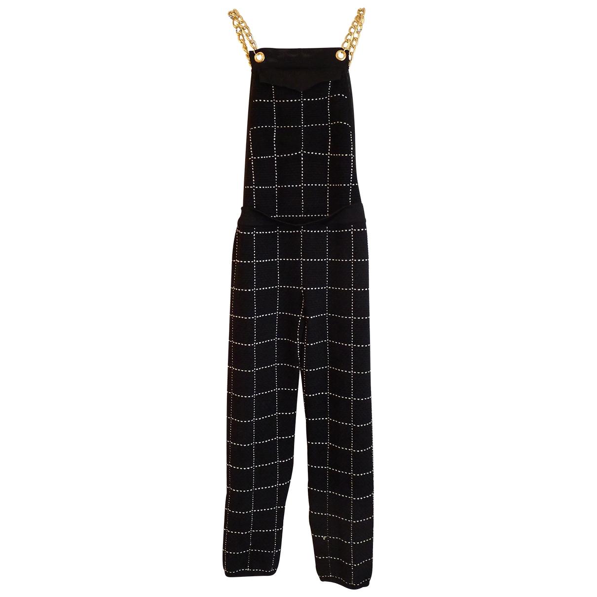 Balmain \N Black jumpsuit for Women 38 FR