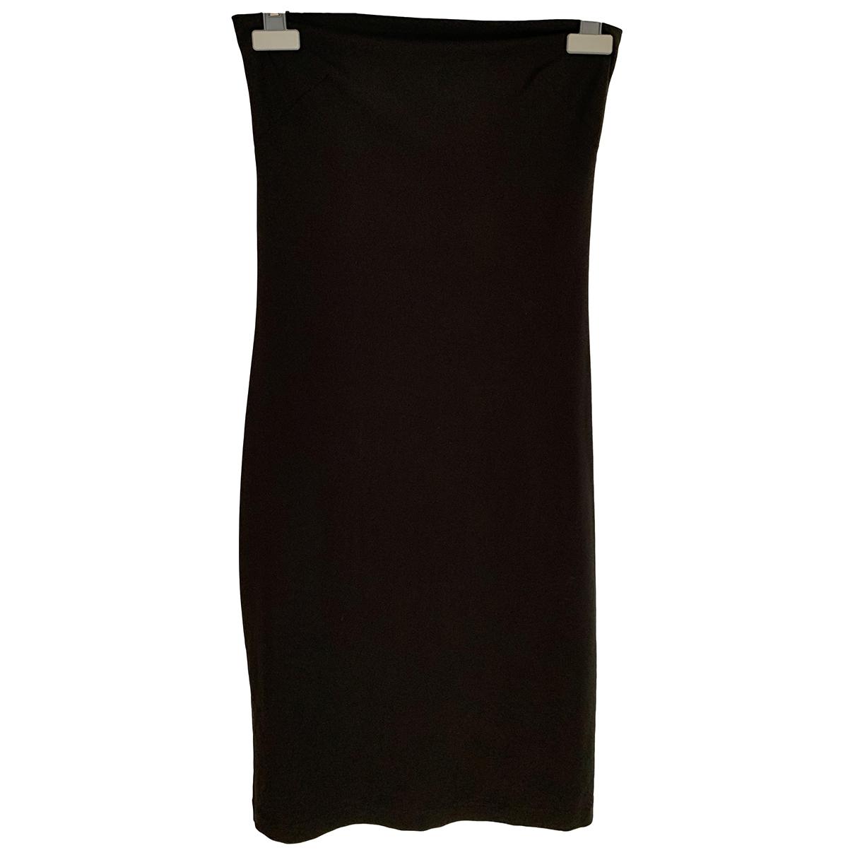 Plein Sud \N Kleid in  Schwarz Polyester