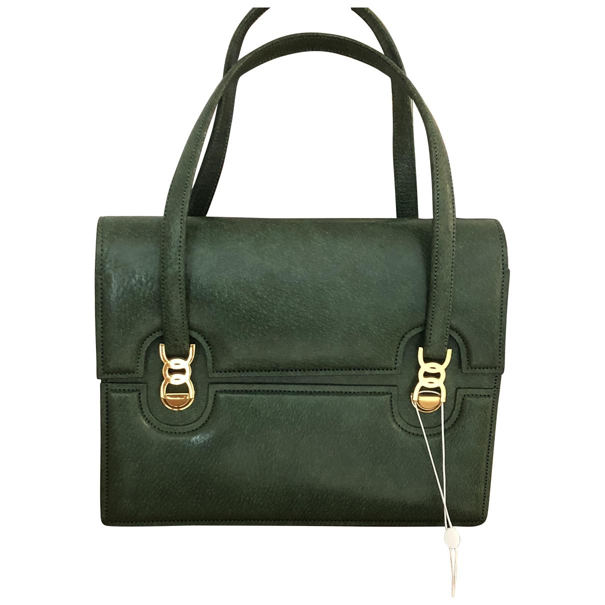 Gucci - Sac a main   pour femme en cuir - vert