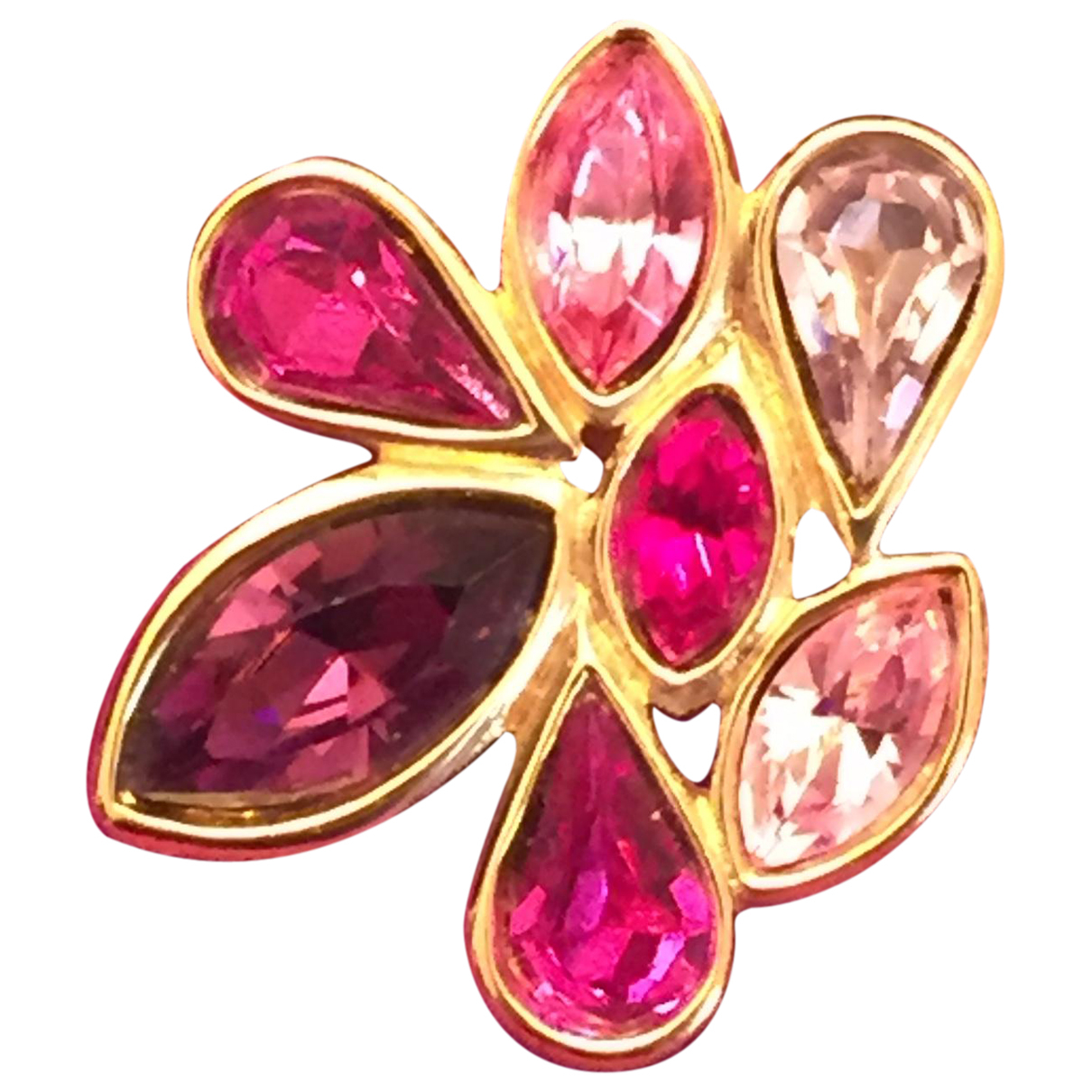Yves Saint Laurent N Pink Metal Pins & brooches for Women N