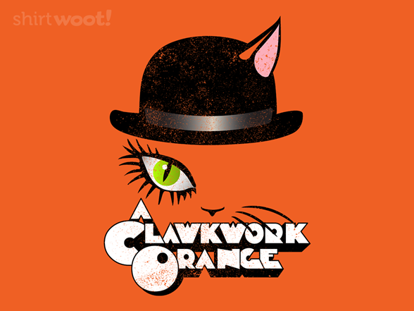 A Clawkwork Orange T Shirt