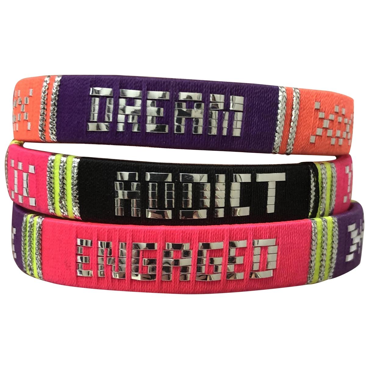 Asos - Bracelet   pour femme en toile - multicolore