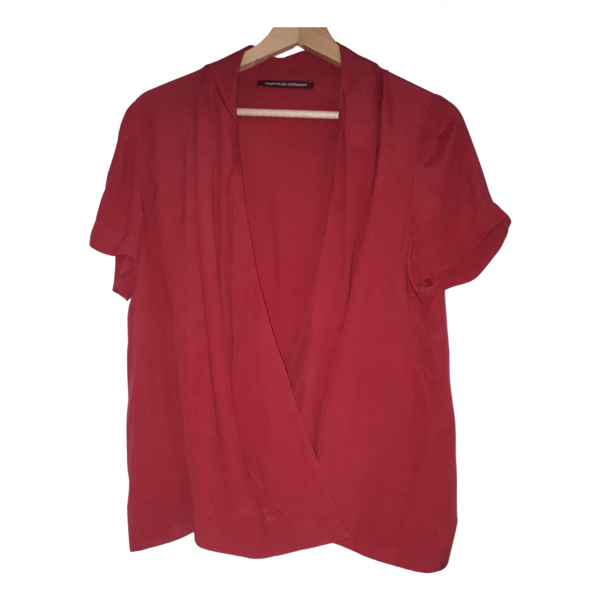 Comptoir Des Cotonniers \N Red  top for Women 40 FR