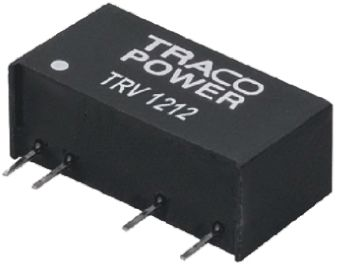 TRACOPOWER TRV 1 1W Isolated DC-DC Converter Through Hole, Voltage in 4.5 → 5.5 V dc, Voltage out 5V dc