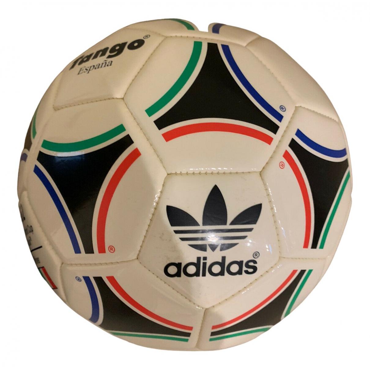 Adidas - Ballons   pour lifestyle en cuir - blanc