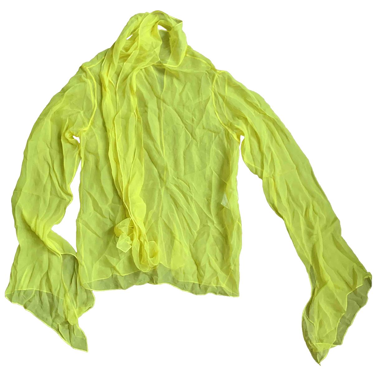 Emilio Pucci - Top   pour femme - jaune