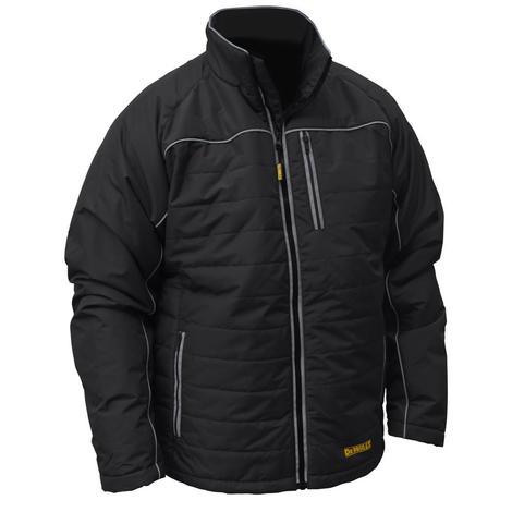 DeWalt Dchj075B Unisex Heated Quilted Soft Shell Jacket - Black - XL