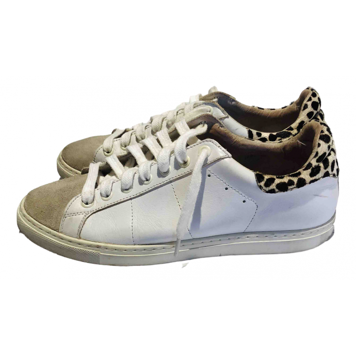 Iro \N White Leather Trainers for Women 39 EU