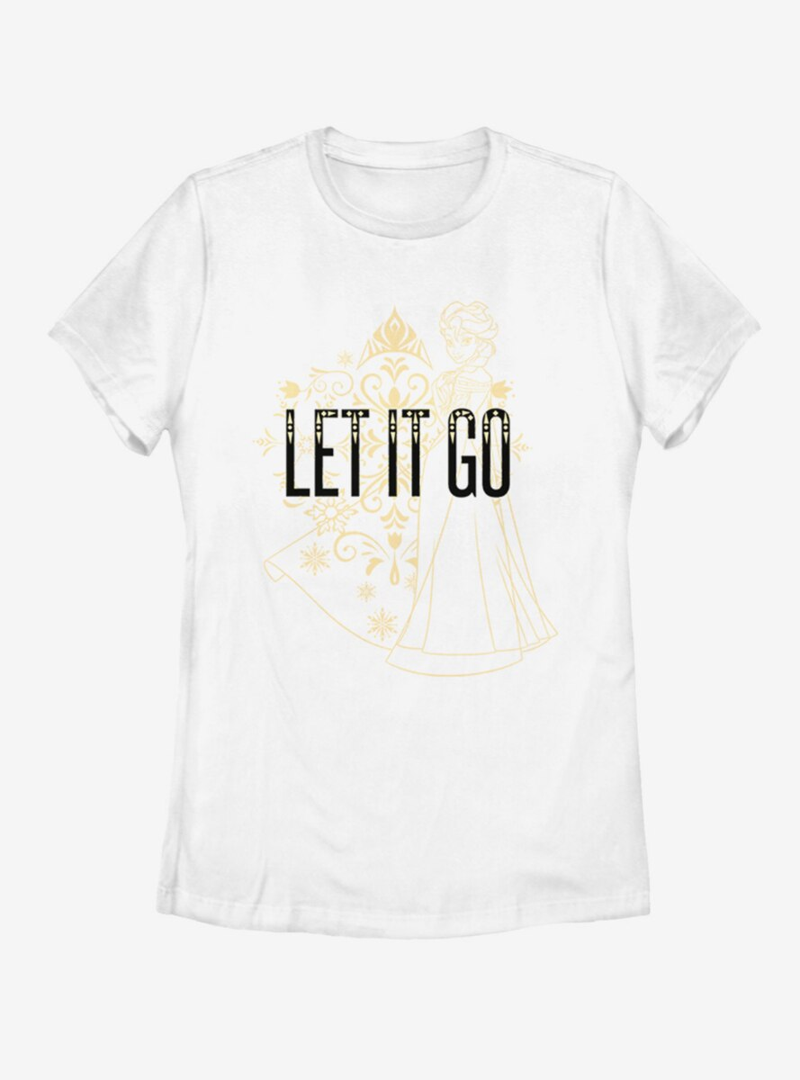 Disney Frozen Let Go Line Womens T-Shirt