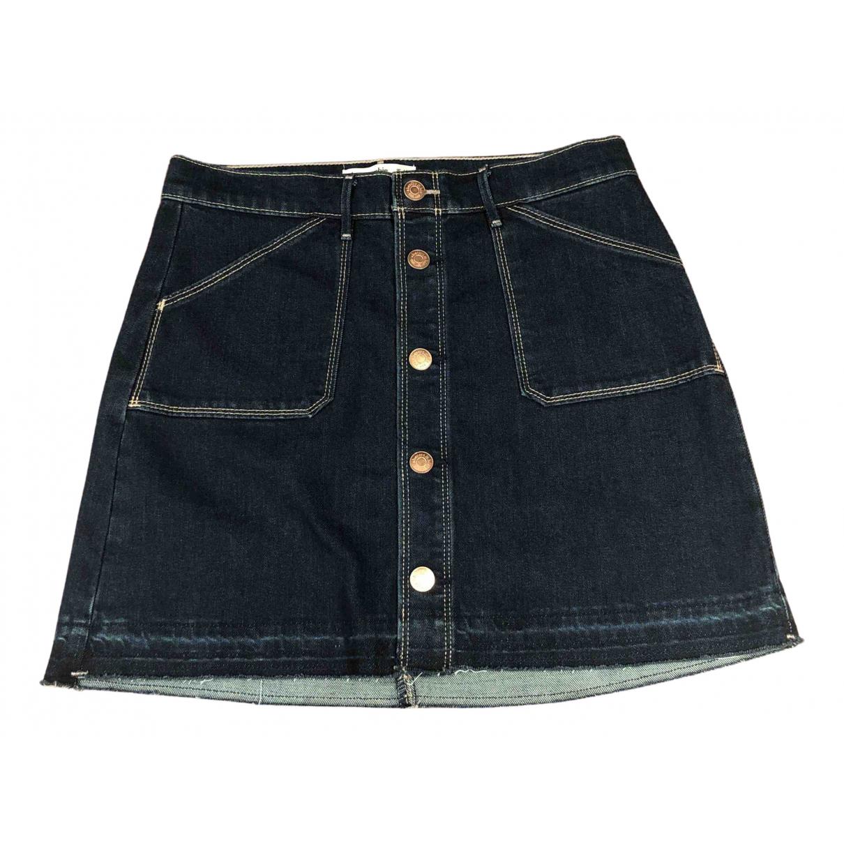 Abercrombie & Fitch \N Rocke in  Blau Denim - Jeans