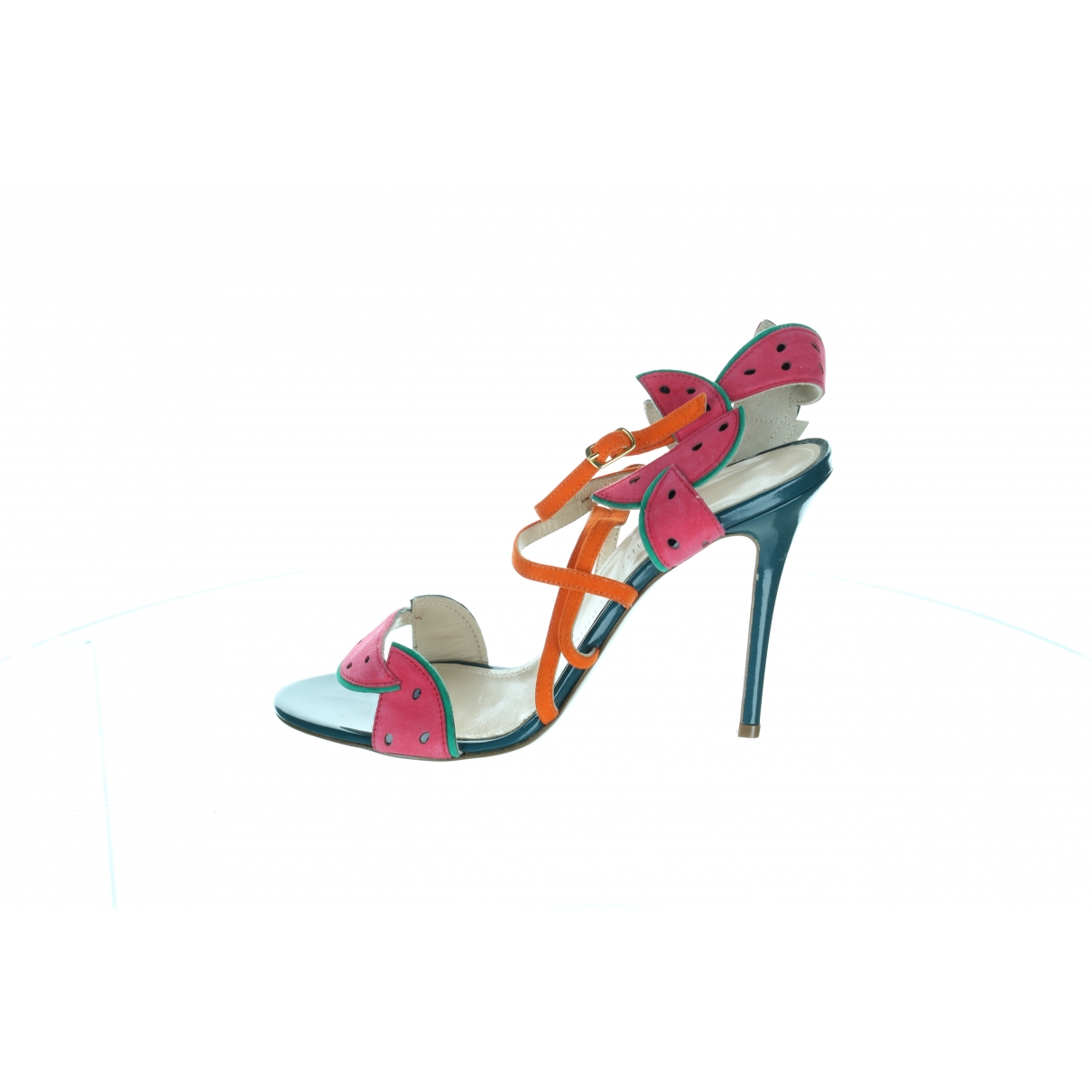 Camilla Elphick \N Multicolour Suede Sandals for Women 38 EU