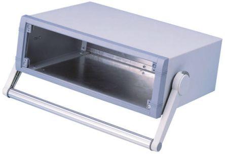 METCASE Unimet Grey Aluminium Project Box, 260 x 350 x 120mm