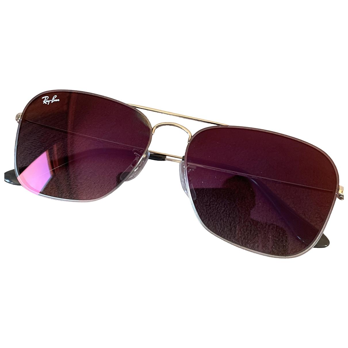 Ray-ban \N Pink Metal Sunglasses for Women \N