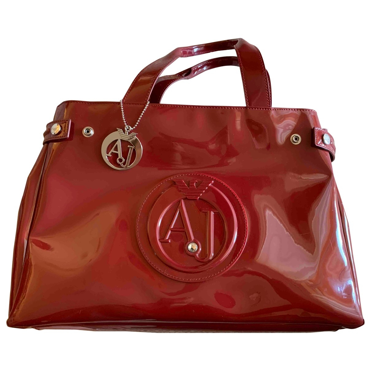 Armani Jeans \N Burgundy handbag for Women \N