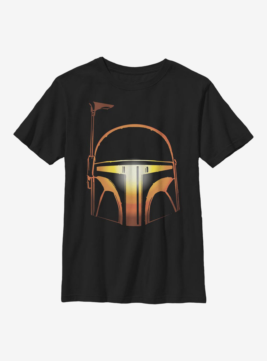 Star Wars Pumpkin Boba Youth T-Shirt
