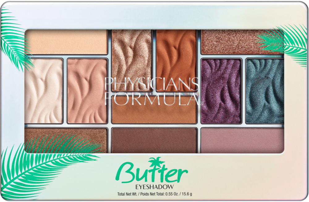Murumuru Butter Eyeshadow Palette - Tropical Days