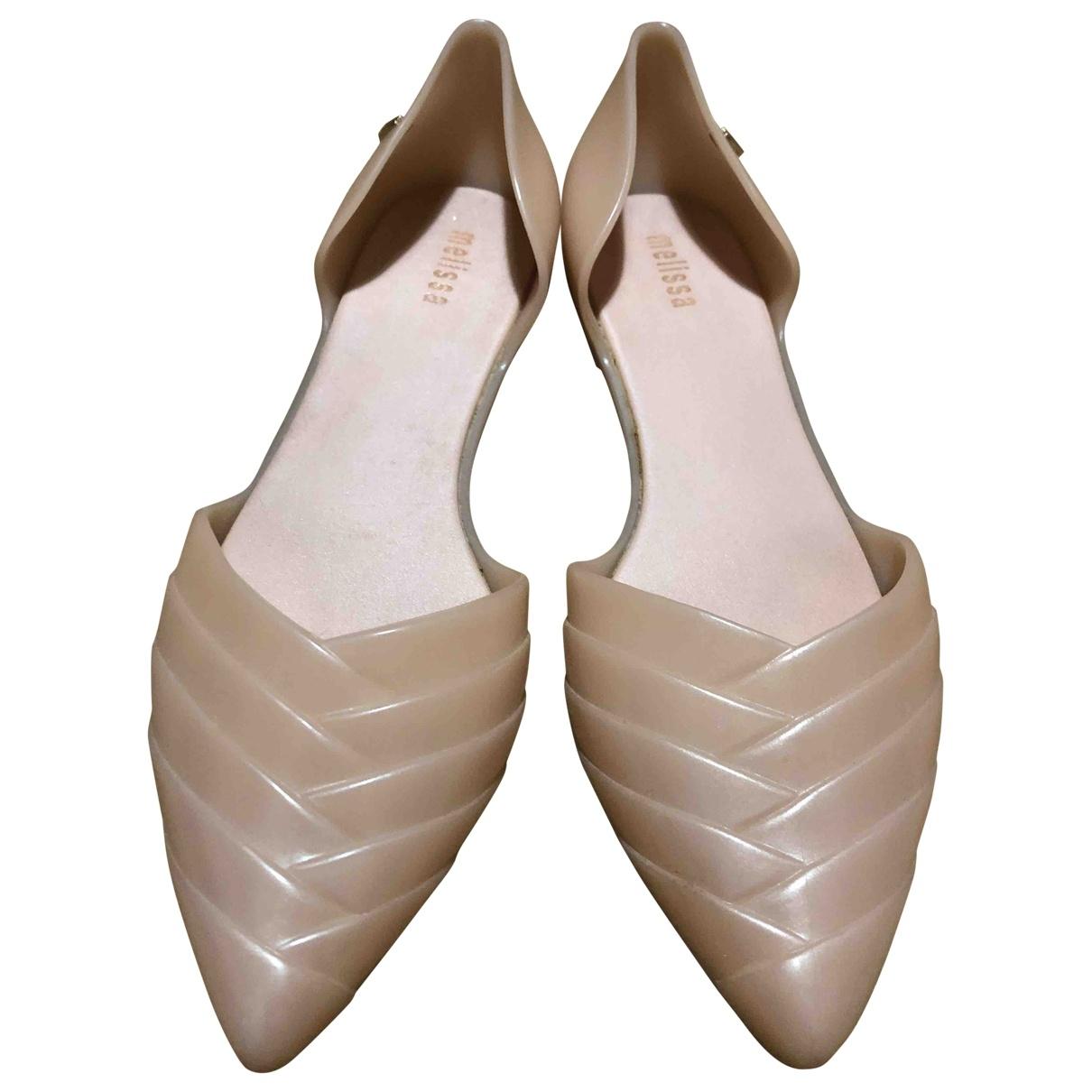 Melissa \N Beige Ballet flats for Women 39 EU