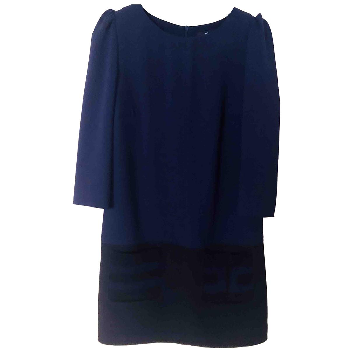 Elisabetta Franchi \N Kleid in  Blau Synthetik