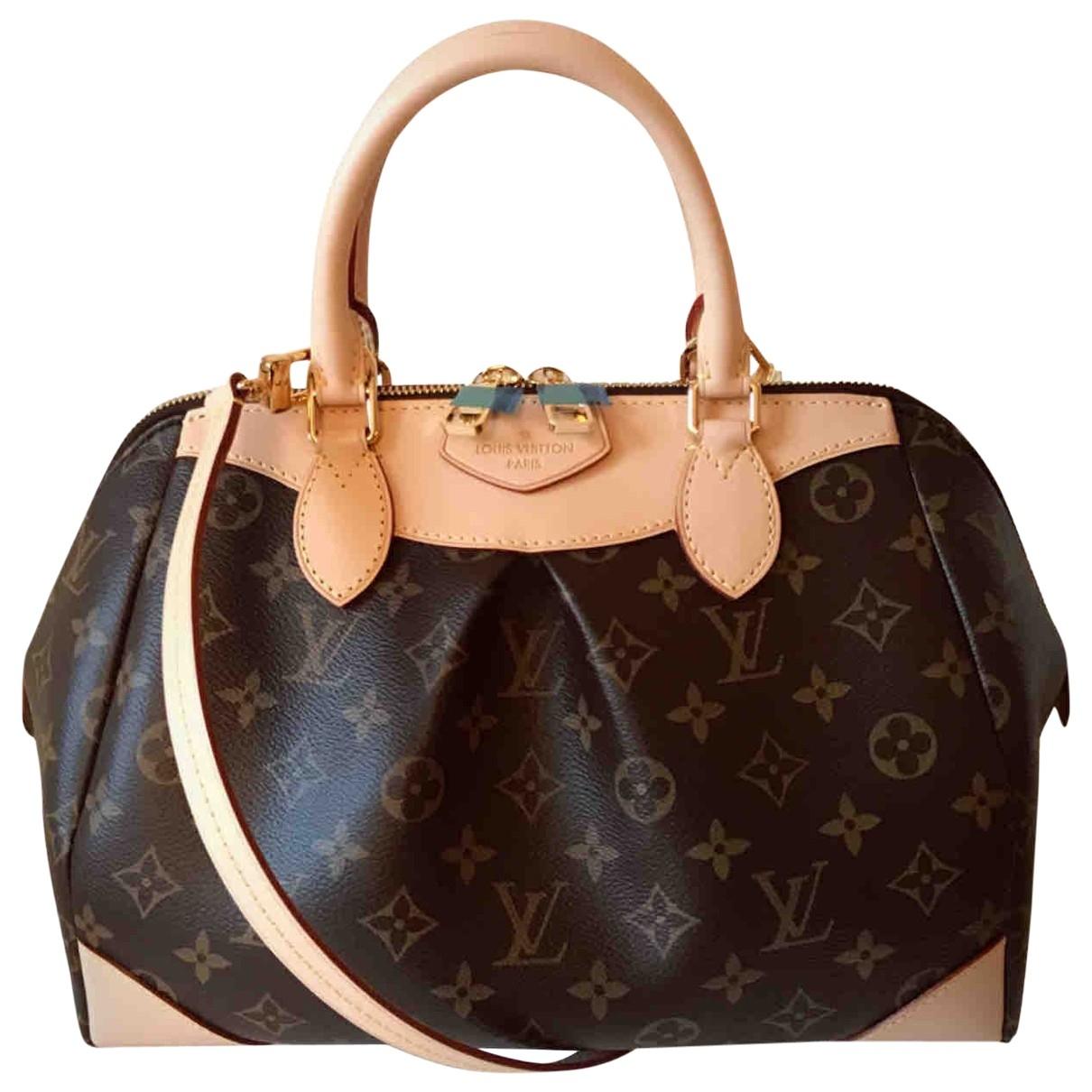 Louis Vuitton - Sac a main Segur pour femme en toile - marron