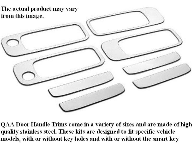 QAA Stainless Steel Door Handle Accent 8Pc 1998-2005 Buick Century