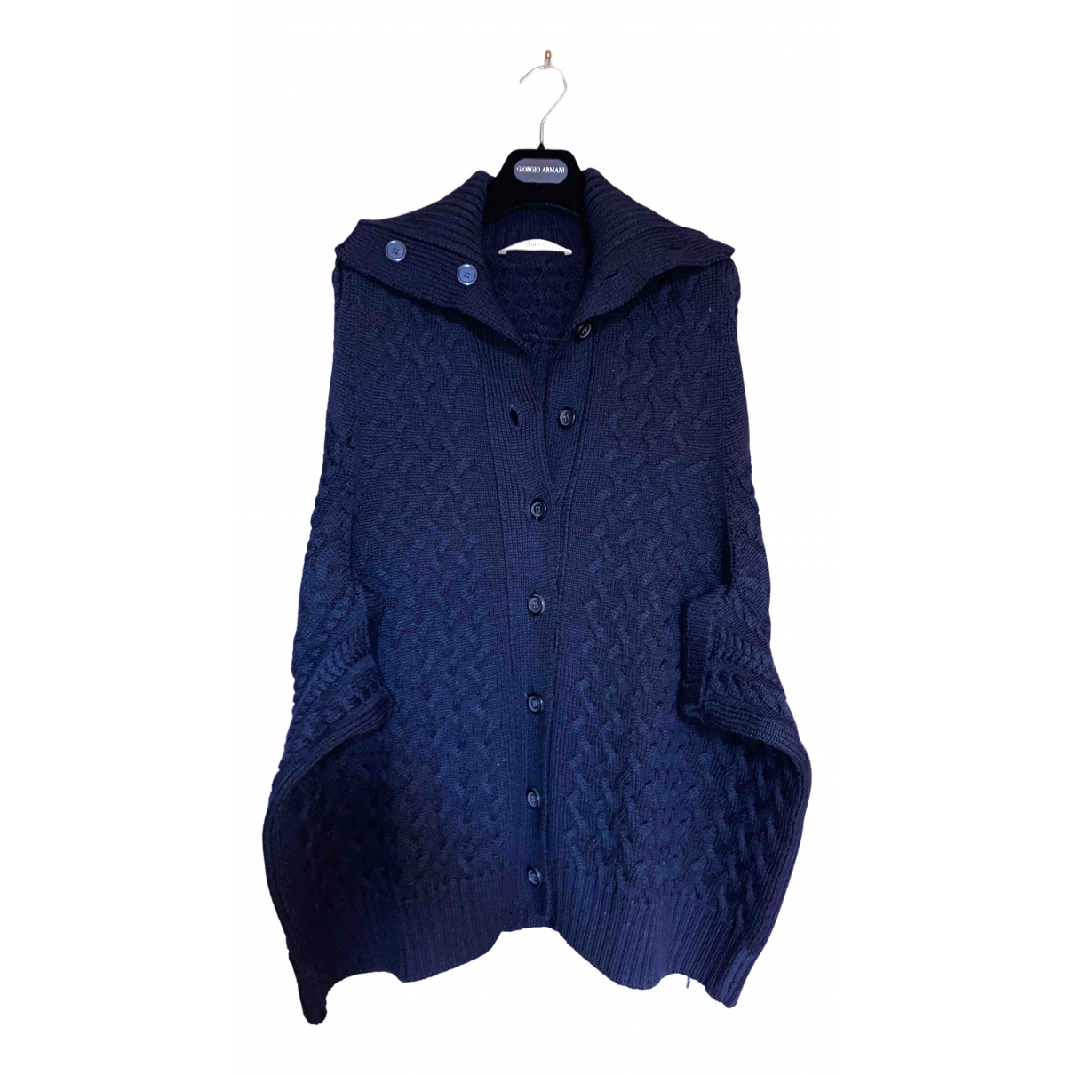 Jucca - Manteau   pour femme en laine - bleu