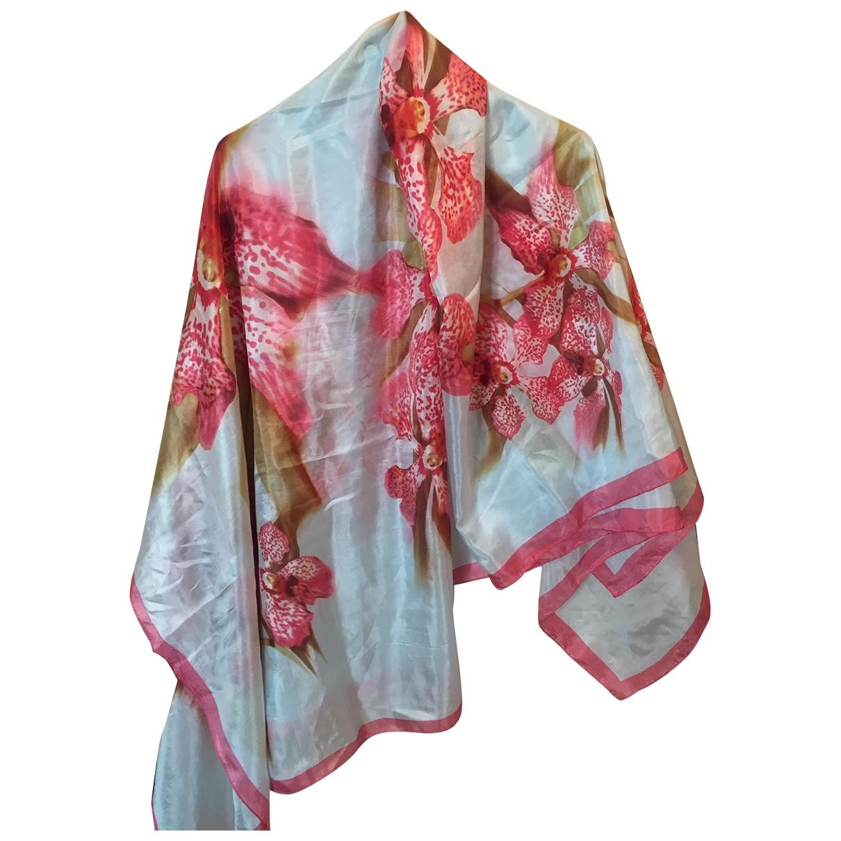 Roberto Cavalli \N Multicolour Silk scarf for Women \N