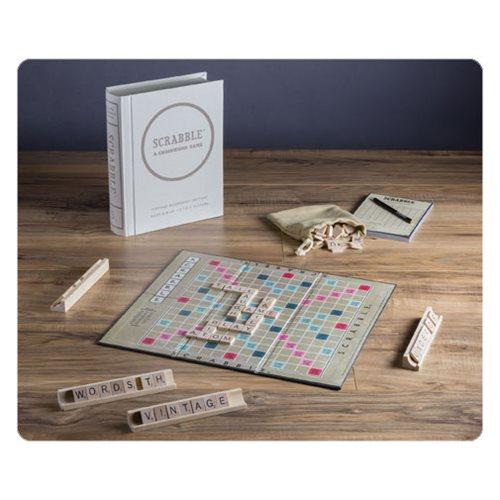 Scrabble Vintage Bookshelf Edition Game