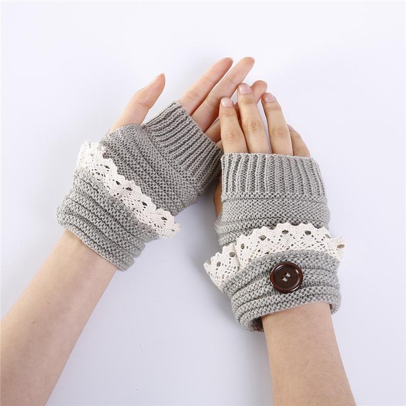 Ericdress Button Touch-Screen Casual Winter Gloves
