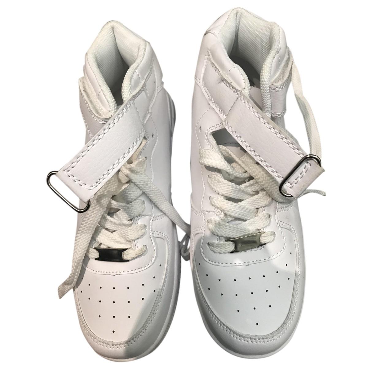 A.i.e. - Baskets   pour femme en cuir - blanc