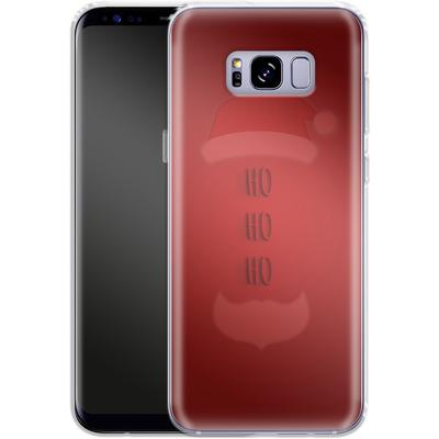 Samsung Galaxy S8 Plus Silikon Handyhuelle - Ho Ho Ho von caseable Designs