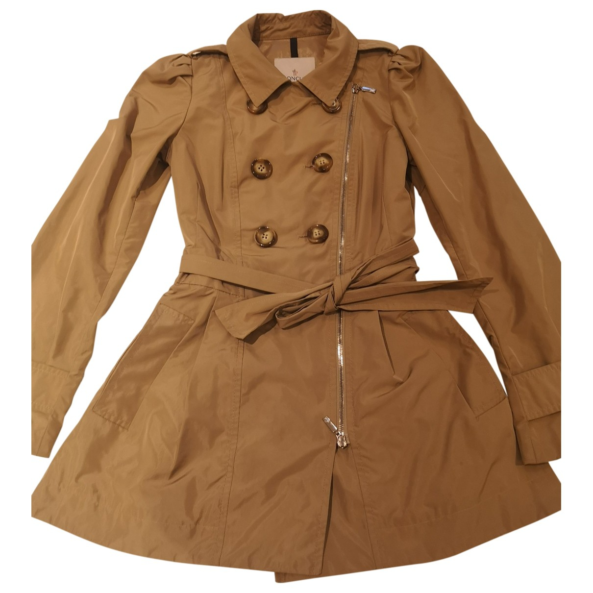 Moncler N Camel Trench coat for Women 1 0-5